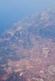 Una isla. Mar Mediterráneo. Imagen de archivo libre de regalías