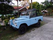 Una jeep parcheggiata su Bequia Immagine Stock Libera da Diritti