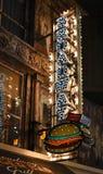 Una junta interior popular de la hamburguesa en Las Vegas Imagen de archivo