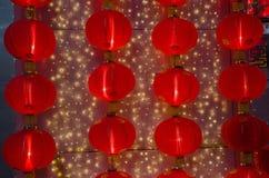 Una lámpara china roja por un Año Nuevo lunar ningún 3 Imagen de archivo
