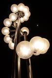 Una lámpara de calle del viento Foto de archivo