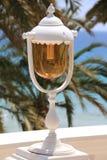 Una lámpara hermosa Fotografía de archivo libre de regalías
