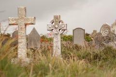 Una lápida mortuaria Fotografía de archivo libre de regalías