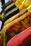 Una línea de ropa Foto de archivo libre de regalías