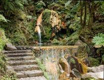 Una laguna azoreno Imagen de archivo libre de regalías