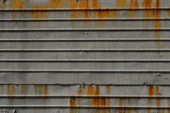 Una lamina di metallo Fotografia Stock Libera da Diritti