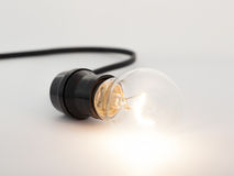 Una lampadina Immagini Stock