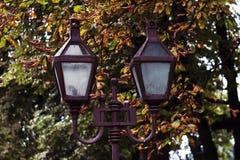 Una lanterna su Leopoli Fotografie Stock