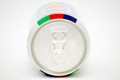 Una latta di soda immagini stock