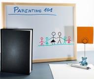 Una lavagna utilizzata per le classi e l'educazione sessuale di parenting in High School o in università immagine stock libera da diritti