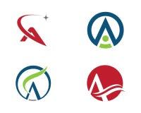 Una letra Logo Business Template Fotografía de archivo libre de regalías