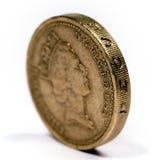Una libra esterlina foto de archivo