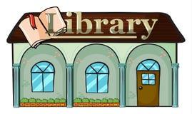 Una libreria illustrazione di stock