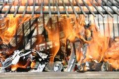 Una llama Imagen de archivo libre de regalías