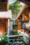 Una località di soggiorno e una stazione termale in Ubud, Bali Immagini Stock