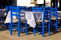 In una locanda tradizionale greca Immagine Stock Libera da Diritti