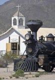 Una locomotora de vapor en Tucson viejo, Tucson, Arizona Fotografía de archivo