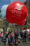 Una los globos de la unión Fotografía de archivo libre de regalías