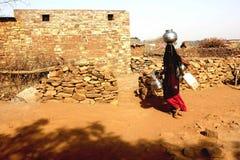 Una lotta per acqua Fotografia Stock Libera da Diritti