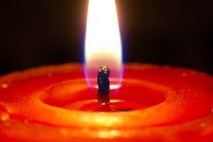 Candela e luce Immagini Stock
