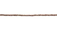 Una lunghezza strettamente allungata della corda Fotografia Stock Libera da Diritti