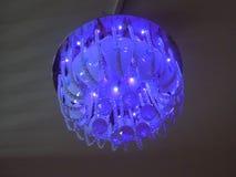 Una luz decorativa para el diseño interior foto de archivo