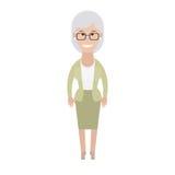 Una más vieja mujer Foto de archivo libre de regalías