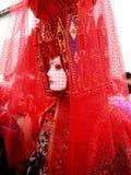 Una máscara en el carnaval de Venecia Imagenes de archivo