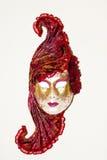 Una máscara hermosa del carnivale Fotos de archivo