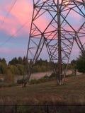 Una mañana de Oregon Fotografía de archivo
