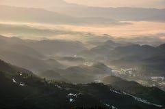 Una mañana en Ziquejie Foto de archivo libre de regalías