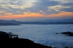 Una mañana en Ziquejie Fotos de archivo libres de regalías