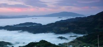 Una mañana en Ziquejie Imagen de archivo libre de regalías