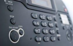 Una macchina di fax immagini stock libere da diritti