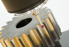 3-D-coordinate-measuring Immagine Stock Libera da Diritti