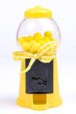 Macchina gialla di Gumball Fotografia Stock Libera da Diritti
