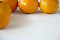 Una mandarina Fotografía de archivo