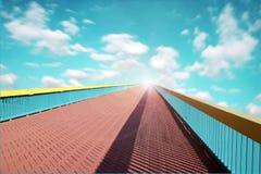 Una manera al cielo fotografía de archivo