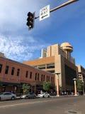 Una manera, caminos céntricos de Phoenix, AZ Foto de archivo