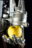 Una mano del robot Immagine Stock