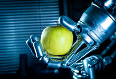 Una mano del robot Fotografia Stock