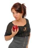 Una manzana al día foto de archivo libre de regalías