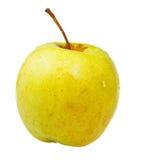 Una manzana 'golden delicious' Fotografía de archivo libre de regalías