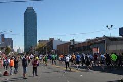Una maratona di 2010 NYC Immagine Stock