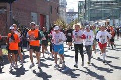 Una maratona di 2010 NYC Fotografia Stock
