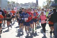 Una maratona di 2010 NYC Immagini Stock Libere da Diritti