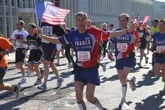 Una maratona di 2010 NYC Fotografie Stock Libere da Diritti
