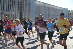 Una maratona di 2010 NYC Fotografia Stock Libera da Diritti