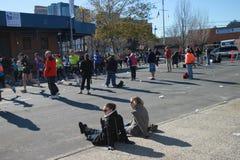 Una maratona di 2010 NYC Immagine Stock Libera da Diritti