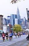 Una maratona di 2013 NYC Fotografie Stock Libere da Diritti